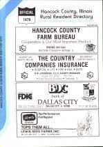 Title Page, Hancock County 1979